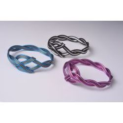 Anodized aluminum jewelry bracelet by Chrizart